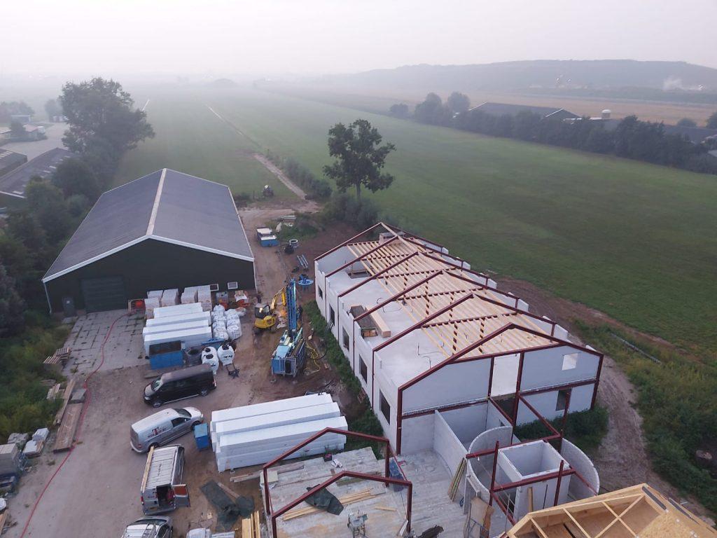 lindenhorst in aanbouw